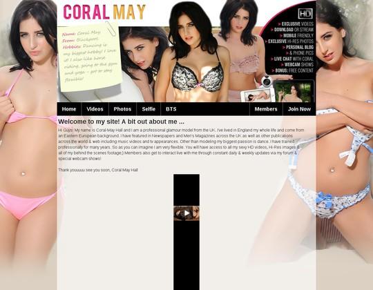 coral may hall officialcoralmay.com