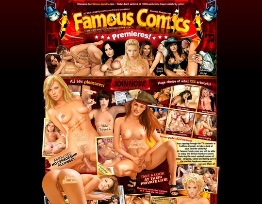 famous comics famous-comics.com