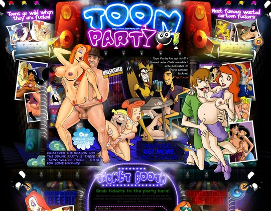 toon party toon-party.com