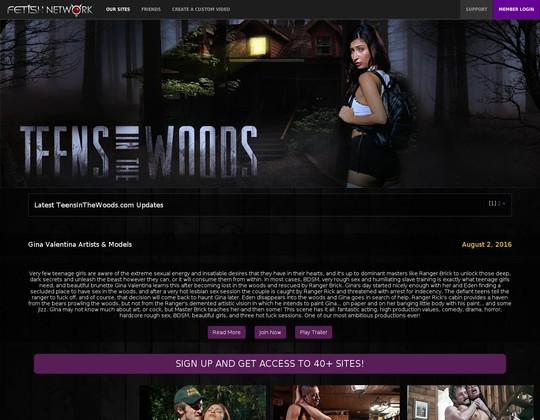 Teensinthewoods